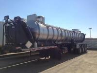 2014 Acro Stainless 29,000L semi vac