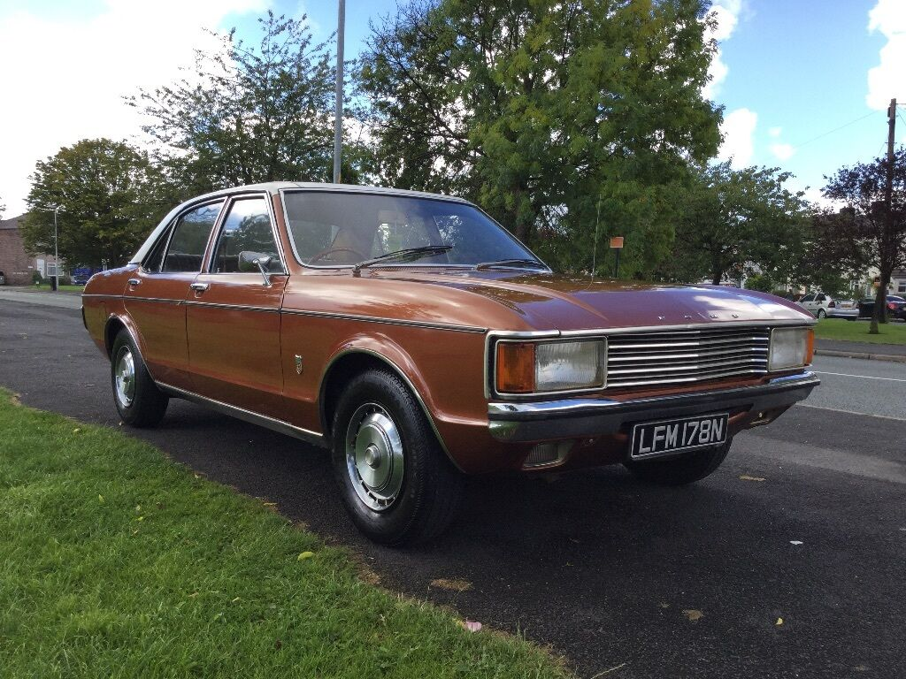 Ford Granada Mk1 1974 3 0 Xl Auto Original History Never