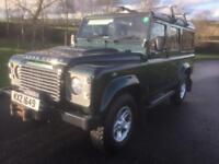 Landrover Defender 110 XS 7 seater.