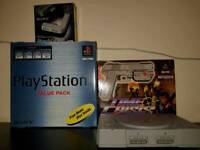 PlayStation one/ ps1 with games