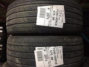 245/45/18 Michelin Pilot HX MXM4 *Allseason Tires*