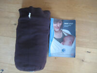 Moby baby wrap/ carrier/ sling brown
