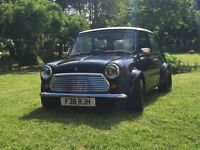 Classic Mini Austin Mayfair 998cc Full MOT, Service. RC40 exhaust Superlite alloys. Metallic Black