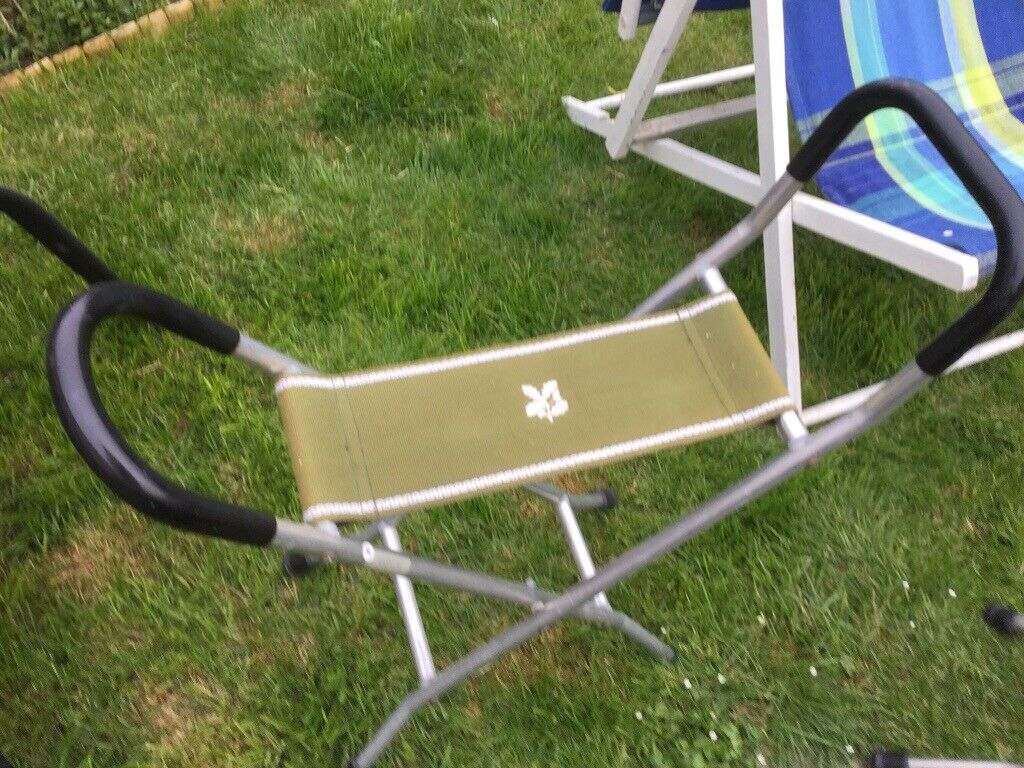 NATIONAL Trust USED FOLDING SEATS / walking sticks | in Lostwithiel,  Cornwall | Gumtree