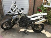 BMW F800GS Adventure ABS - 1 Owner, Full BMW Paniers, touring Screen, SAT NAV, 12mth MOT - perfect