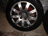 2 - 15 inc VW wheels