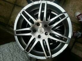 7 x rs4 18 inch alloys 5x112 s2ap