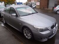BMW 525d M Sport Auto,4 dr saloon,1 previous owner,2 keys,FSH,full leather interior,Sat Nav,VO06TTF