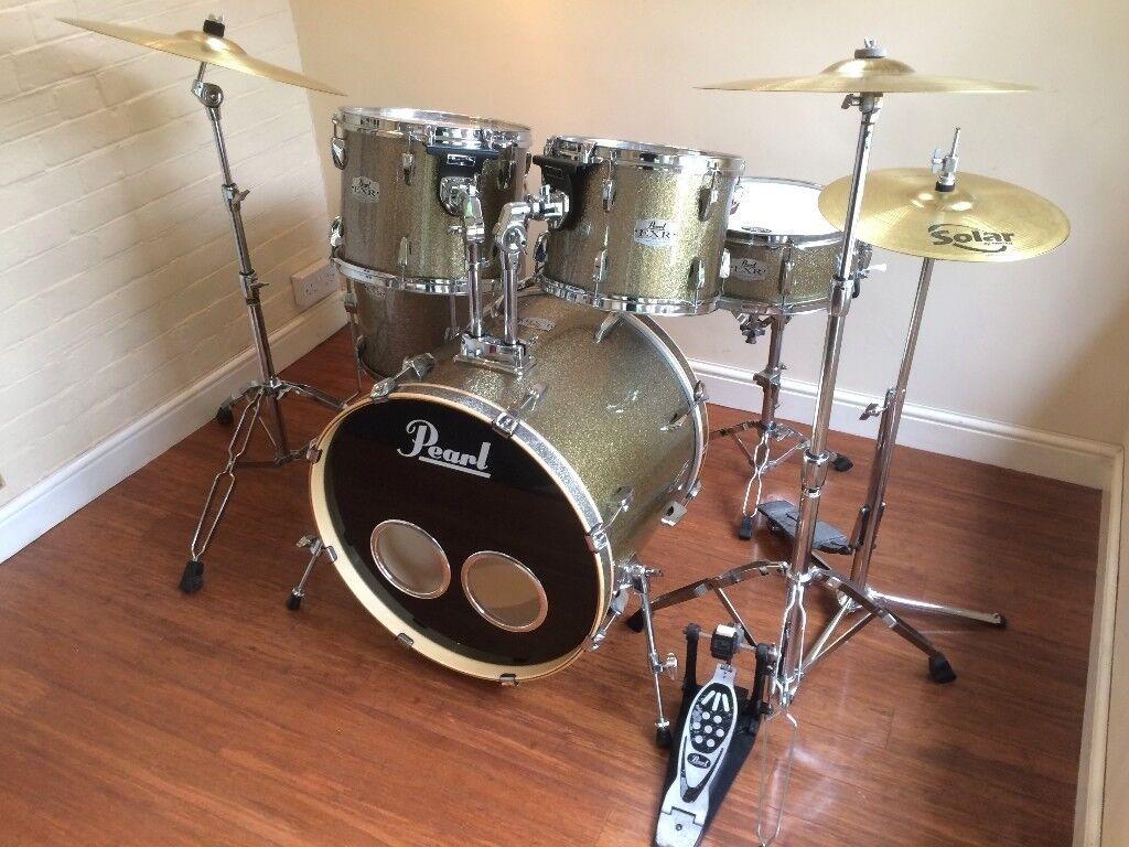 Wokingham Drum Sales - Pearl Export EXR Sparkle Drum Kit, Hardware