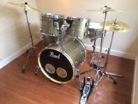 Wokingham Drum Sales - Pearl Export EXR Sparkle Drum Kit, Hardware