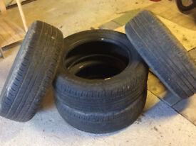 4 x Hankook Optima tyres