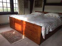 Super king 6' vintage double bed
