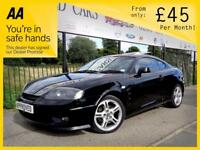 HYUNDAI S-COUPE 2.0 SE 3d AUTO 141 BHP Apply for finance Online to (black) 2006