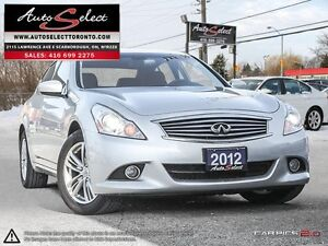 2012 Infiniti G37x AWD ONLY 90K! **TECHNOLOGY PKG** NAVIGATIO...