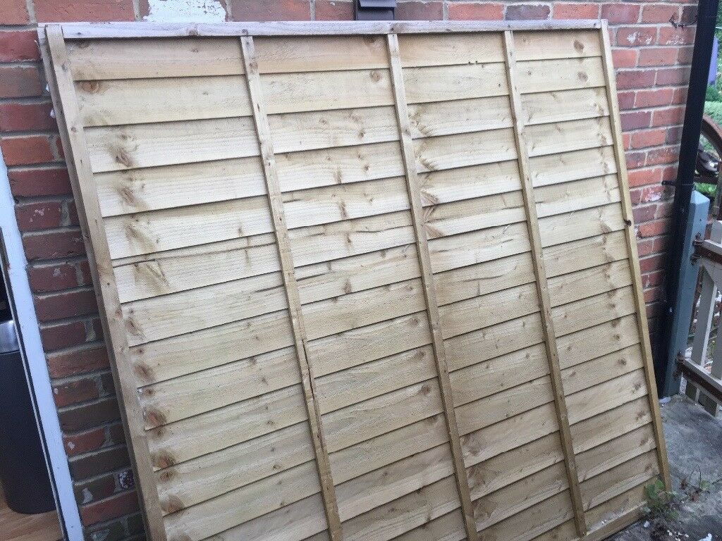 6ft x 6ft fence panels by larchlap x 4 in shinfield berkshire 6ft x 6ft fence panels by larchlap x 4 baanklon Image collections