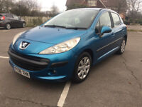 PEUGEOT 207 1.4 S Sport 5 Door 2008 New Cambelt Kit & Gearbox , Clutch kit Fully serviced New MOT