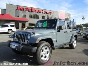 2014 Jeep Wrangler Unlimited Sahara, Local/No Accidents