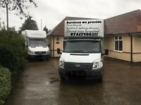 24/7 SHORT NOTICE VAN & MAN HOUSE REMOVALS UNBEATABLE PRICES GUARANTEED! EXCELLENT SERVICE
