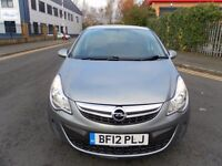 2012 VAUXHALL CORSA 1.3 CDTI DIESEL ecoflex £20 TAX LOW MILEAGE CHEAP TO RUN GREAT CONDITION