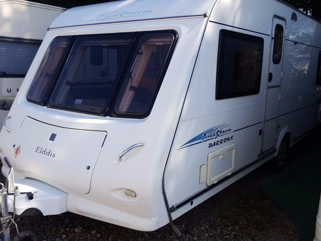 2005 Elddis Firestorm (Odyssey) 534 4 Berth Fixed Bed Caravan