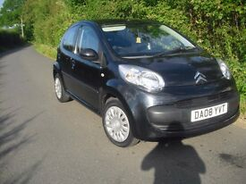 Citroen C1 Rhythm 5 door hatchback, new MOT, low mileage only 27801 miles