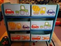 Childrens toy storage