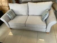 Brand New Grey Fabric 3 Seater Sofa