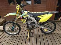 2016 Suzuki RMZ 450 Motocross PX and delivery possible
