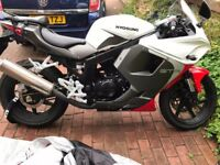Hyosung GT125R for sell, Just like new, only 104Miles. 2Year Warranty