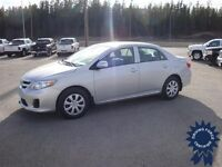 2013 Toyota Corolla CE Compact Car - 20,260 KMs - FWD System
