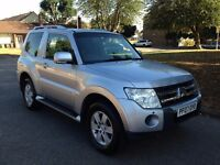 2007 Mitsubishi Shogun 3.2 DI-DC Equippe 3dr, AUTO, ONE OWNER, ENGINE REBUILD, DRIVES PERFECT