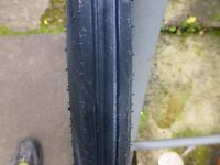 "velosolex tyre 19"" 1/3/4-10 hutchinson ribbed tyre made in france brand new"