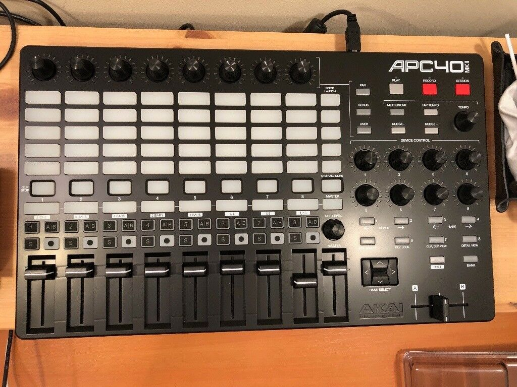 Akai APC40 Mk2 midi controller for Ableton Live | in Leyton, London |  Gumtree