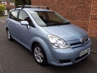 2005 TOYOTA COROLLA VERSO D-4D T3, FULL HISTORY ,7 SEATER