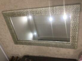 Large rectangular Mirror 183cm x 108cm