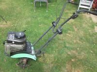 The Handy Tiller Petrol Rotovator with Briggs and Stratton Engine