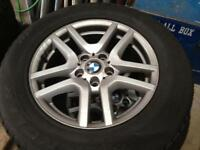 BMW X5 wheels and winter tyres