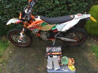 KTM EXC 450 SIX DAY 2011