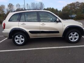 TOYOTA RAV-4 2.0 D4-D XT4 5 DOOR 105K F/S/H CAMBELT REPLACED @101K LEATHER PACK PRISTINE CONDITION