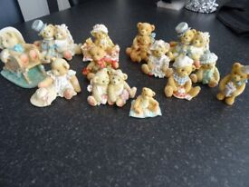Collection of Cherished Teddies - 13 of by Priscilla Hillman.