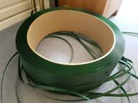 1 Roll or coil of Commercial corded cord plastic strap