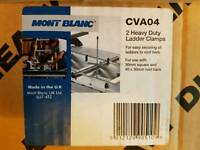 Month blanc ladder clamps for roof bars BNIB