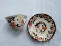 Masons Blue Mandalay Tea Cups and Saucers