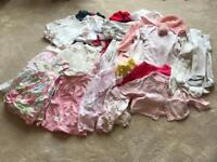 Girls clothing bundle 0-3 months