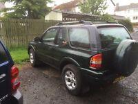 Vauxhall frontera spares or repairs