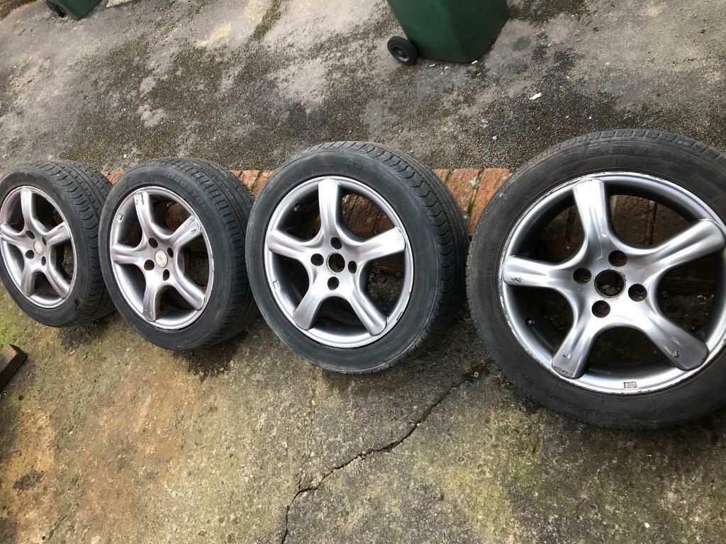 fox 1 evo alloy wheels 15 4x100 6 5j et35 with 195 50 r15 tyres in allerton west yorkshire. Black Bedroom Furniture Sets. Home Design Ideas