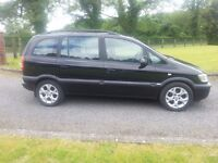 2004 VAUXHALL ZAFIRA 2.0DTi DIESEL FULL YEAR MOT 7 SEATER EXCELLENT CONDITION