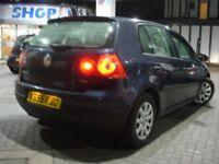 !!! VW VOLKSWAGEN GOLF 1.9 TDI SE 55 PLATE NEWER SHAPE DIESEL !!! 5 DOOR HATCHBACK !!!