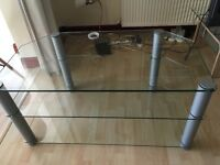 TV stand unit - glass FREE