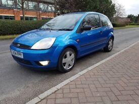 Ford fiesta 1.4 zetec blue qiuck sale offers